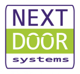 Next door systems logo cadkunde referentie